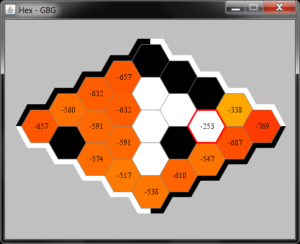 Gameboard Hex in GBG